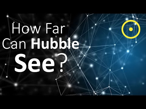 How Far Can Hubble See?