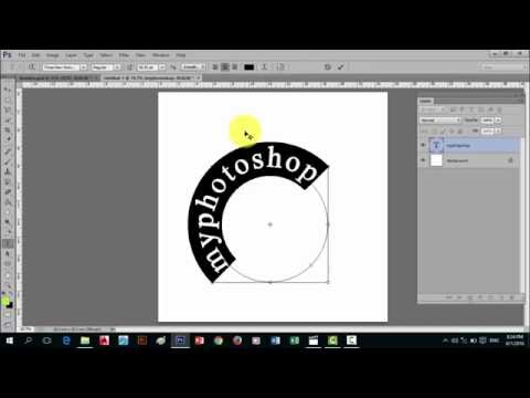 Basic Tagalog Tutorial on How to use Text in Photoshop cs6