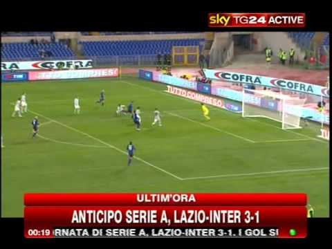 Sky Sintesi Gol Lazio Inter 3 1 15 Giornata Serie A Youtube
