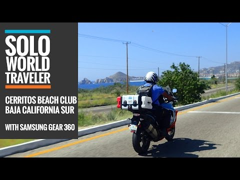 The Road To Cerritos Beach Club & Surf, Baja California, Mexico In 360 Pt2 Degrees