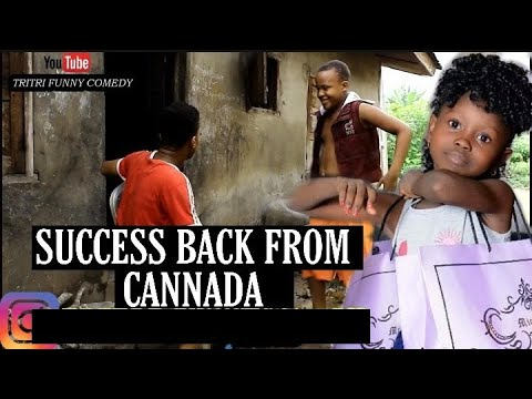 Success Back From Canada Them Go Flog Tire - Funny Nigeria Comedy Episode 42 mp4 1