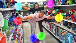 Twister challenge in public (With Fans)
