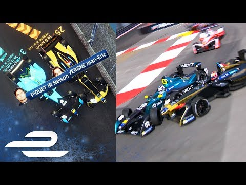 Virtual Reality Analysis Of Vergne/Piquet Crash In Monaco - Formula E