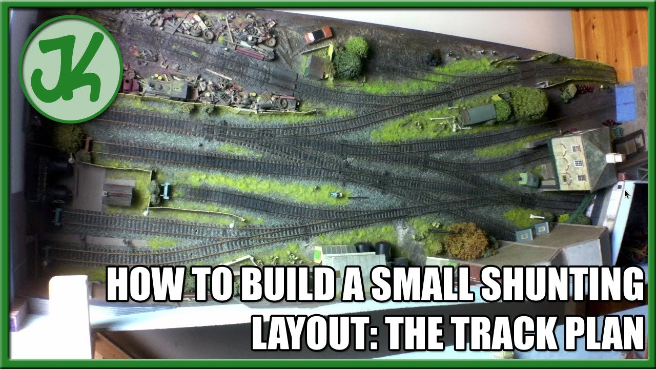 How to Build a Small Shunting Layout, part 7: The Track Plan
