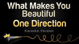 One Direction - What Makes You Beautiful (Karaoke Version)