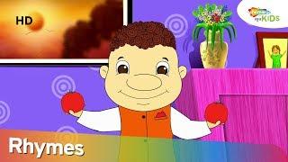 Kempu  ṭomyāṭo (ಕೆಂಪೂ ಥಾಮಯತೊ) | Animated Kannada Rhyme For Children | Shemaroo Kids Kannada