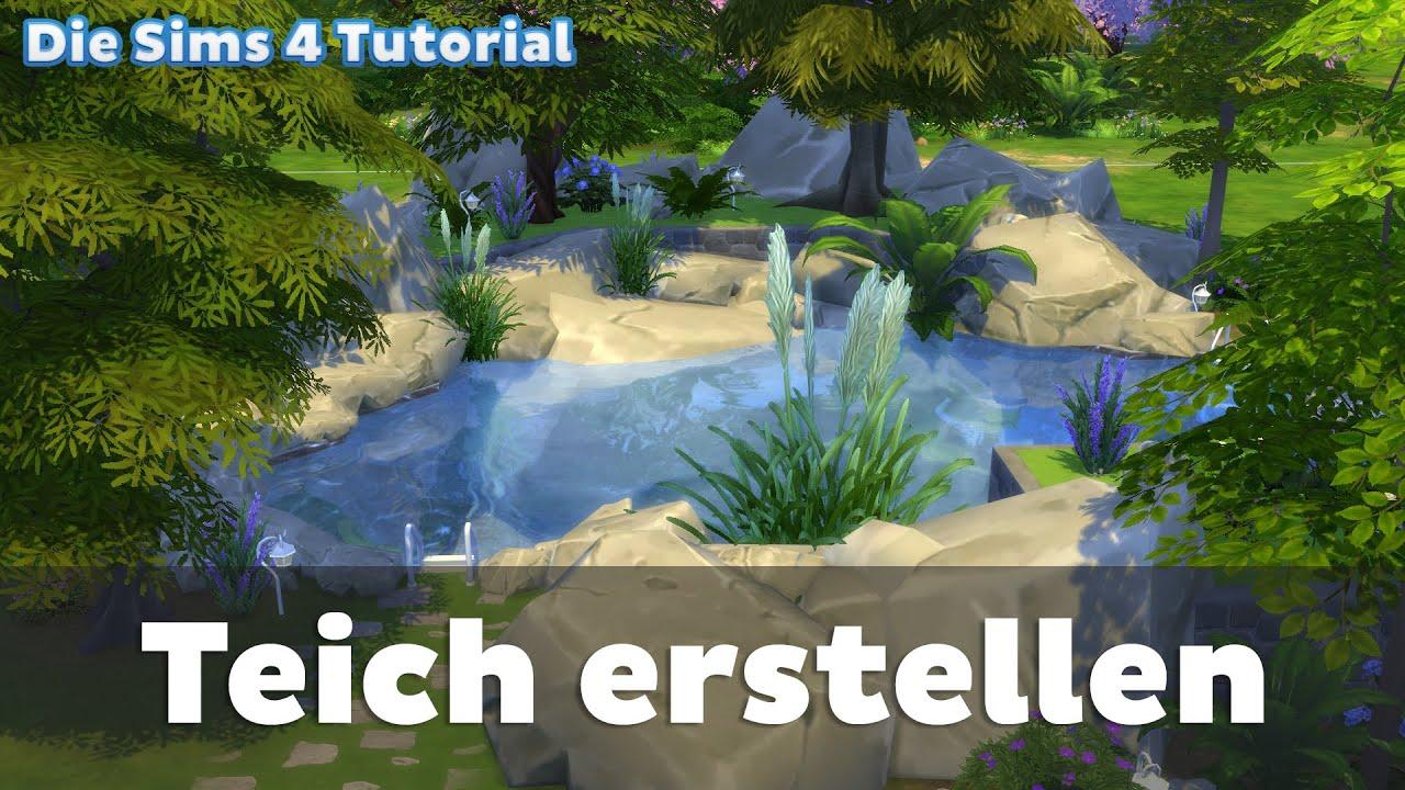 Teich erstellen die sims 4 tutorial youtube for Teich bilder