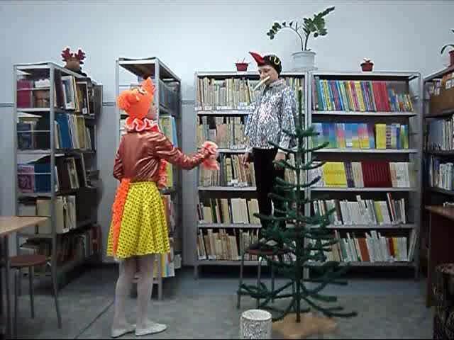 """Изображение предпросмотра прочтения – «Клуб любителей книги """"АБВГД-ейка""""» читают произведение «Ворона и Лисица» И.А.Крылова"""