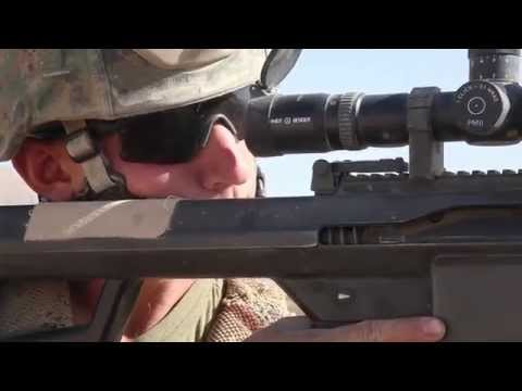 US Marines Firefight With Taliban In Sangin Afghanistan 2010