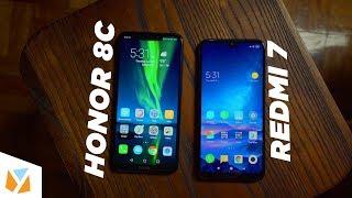 redmi 7 vs Honor 8C Comparison Review
