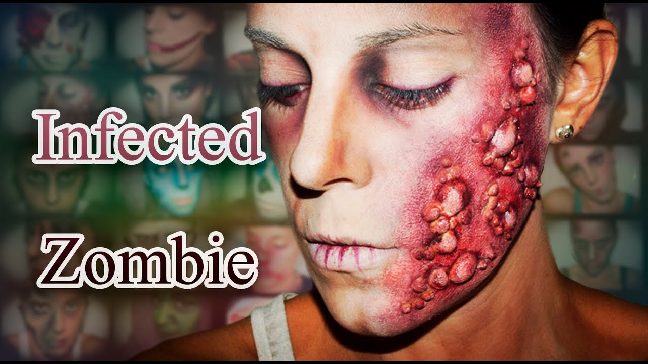 halloween fx makeup infected zombie silvia quiros youtube - Halloween Effects Makeup