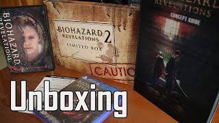 Biohazard Revelations 2 [e-capcom Limited Edition] - PS4 - Unboxing