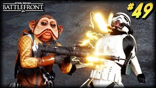 Star Wars Battlefront - Funny Moments #49 (Electrocution Fails!)