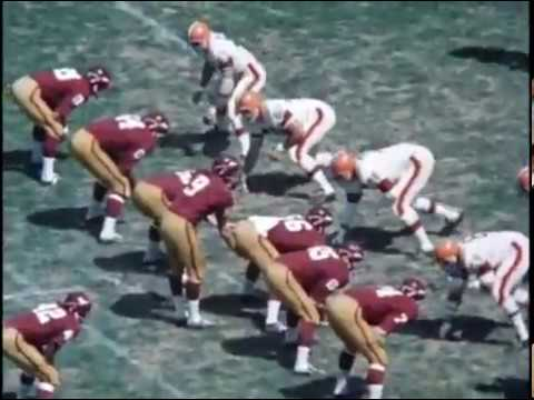 1966 Browns at Redskins Game 1