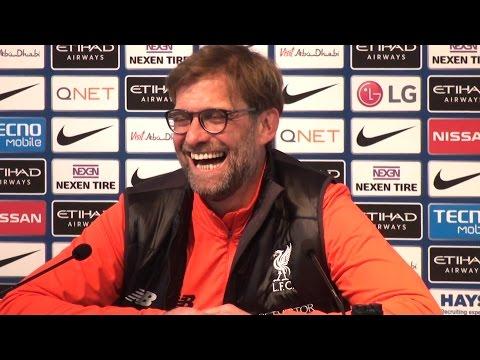 Manchester City 1-1 Liverpool - Jurgen Klopp Full Post Match Press Conference