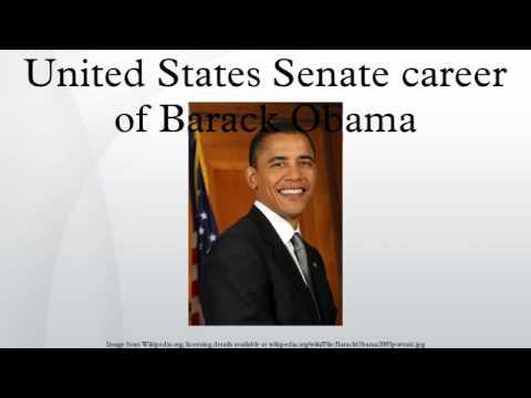 United States Senate career of Barack Obama