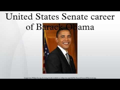 United States Senate career of Barack Obama