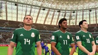 México vs Alemania mundial Russia 2018 fifa 18