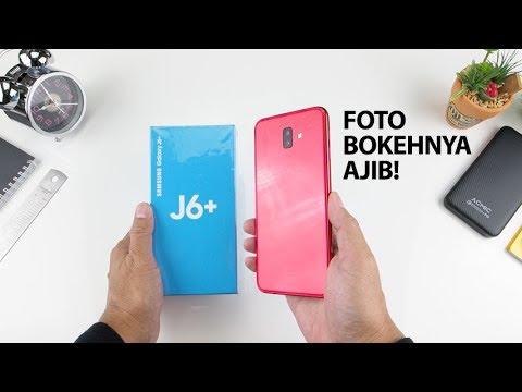Samsung Galaxy J6+ Indonesia, Buat Foto Bokeh & Layar Luas!
