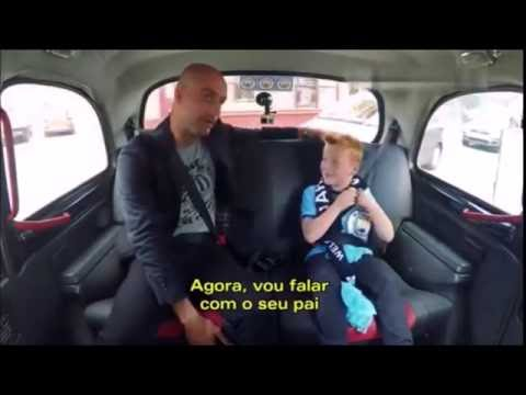 Pep guardiola surpreende Met Braydon fã mirim do Man City - Gandula Mitagens