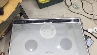 Tets em bếp từ âm sai 75 mitsubishi nội địa nhật sử dụng điện 220v