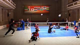 Sitting Volleyball Women's World Championship 2018 - Training Match - Italy v Japan