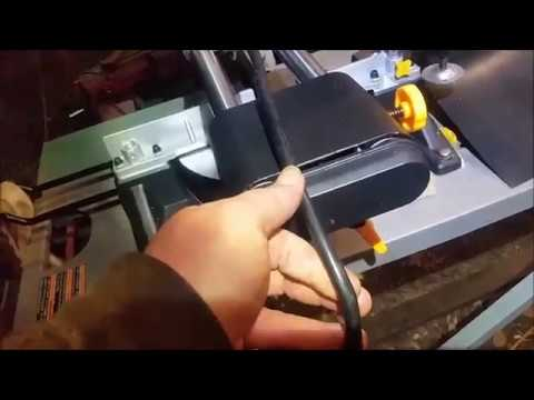 Harbor Freight Sliding Miter Saw Fix Item 61969 And 61970