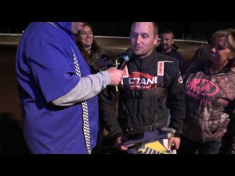 Anthony Kinkade post race interview from Midway Speedway 4-21-17