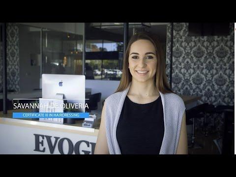 Savannah De Oliveira (Certificate III in Hairdressing), NSW