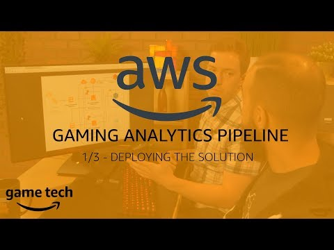 Deploying a Gaming Analytics Pipeline using an AWS CloudFormation Template
