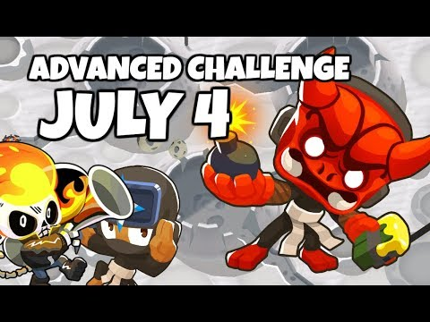 BTD6 Advanced Challenge - Happy 4th Of July