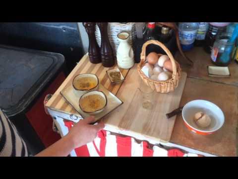 Как приготовить яйцо в духовке