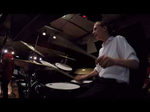 Rocky Theme Song 'Gonna Fly Now' Hadley Junior High School 8th Grade Jazz Band