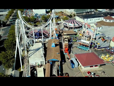 Trimper Rides August 2016 Ocean City, Maryland Footage