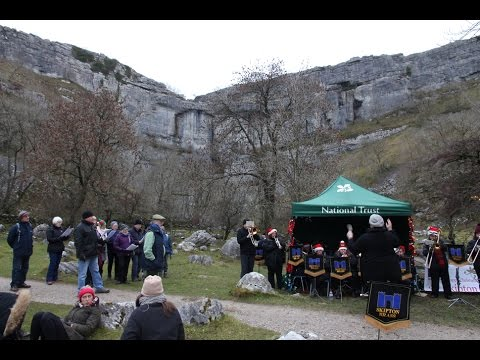 Carols at Malham Cove with Skipton Brass Band - 3rd Dec 2016
