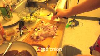 Alejandro's Kitchen: Ahi Tuna Dinner.