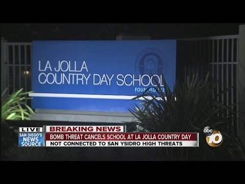 La Jolla Country Day School closed Wednesday due to bomb threat