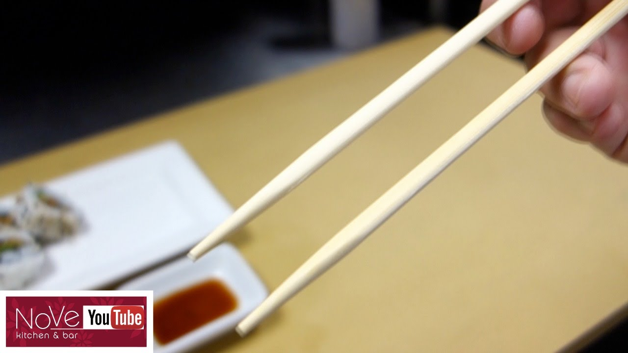 how to hold chopsticks youtube