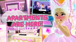 The APARTMENTS Are Here! Everything YOU NEED TO KNOW! Roblox Royale High School Update