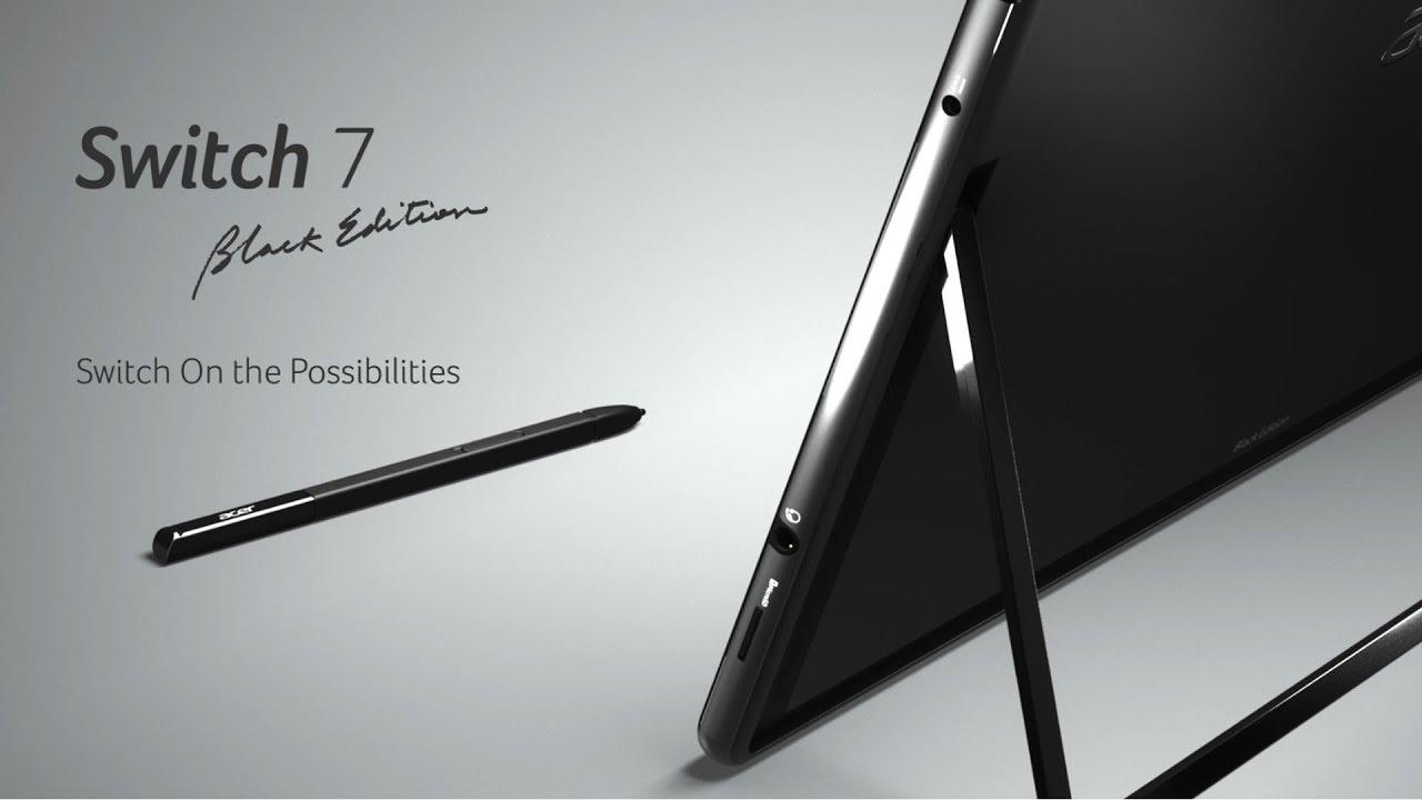 Resultado de imagen para Acer Switch 7 Black Edition