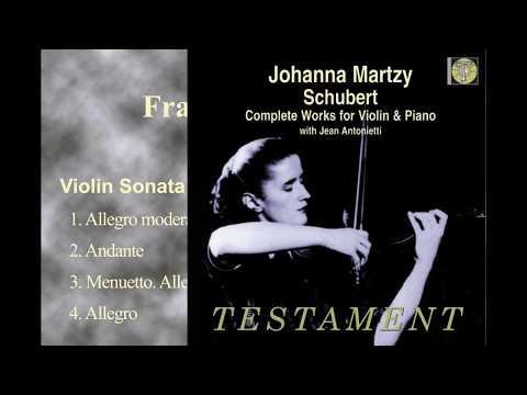 Schubert Violin Sonata in A minor D.385(Johanna Martzy 1955)