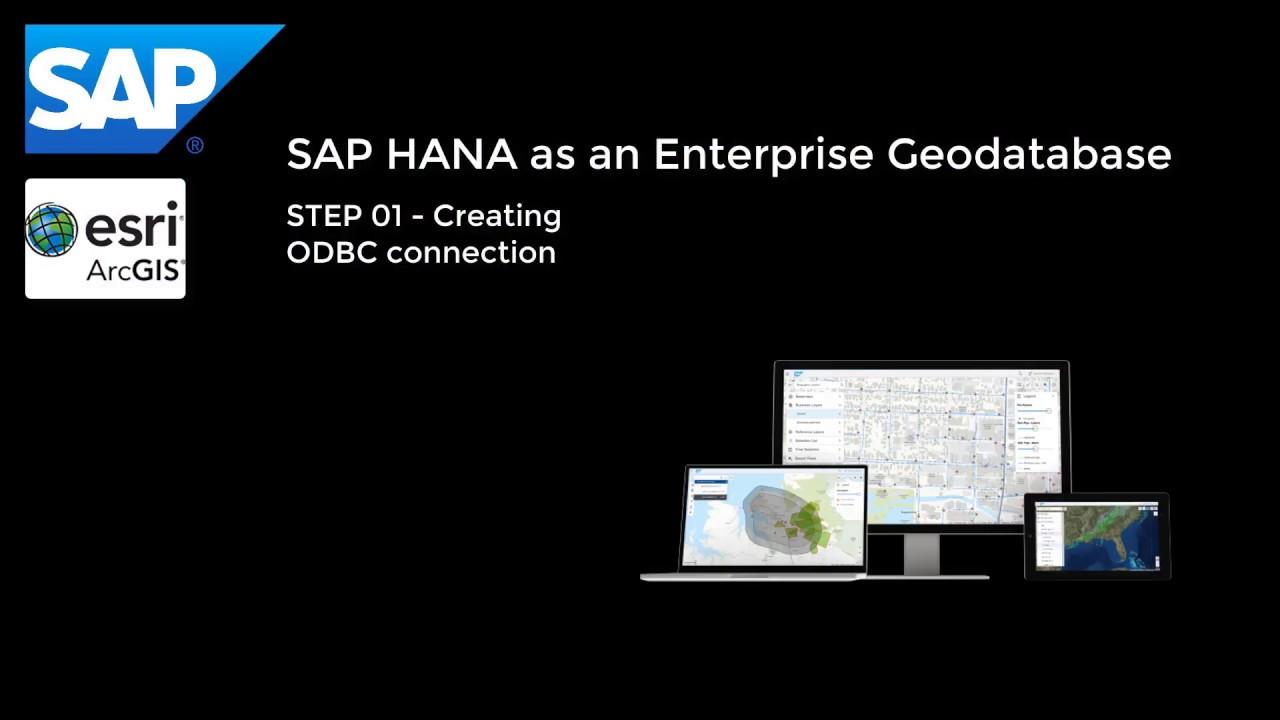 SAP HANA and ArcGIS Pro – Enable Enterprise Geodatabase   SAP Blogs