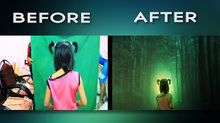 VFX BREAKDOWN - After Effects 'GREEN SCREEN' Compositing