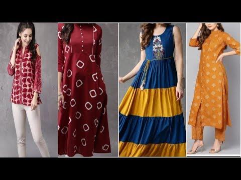 e8f5ccfbad91 Myntra Women's Top, Dress, Kurta, Gown & Kurta Palazzo | Myntra Shopping  haul
