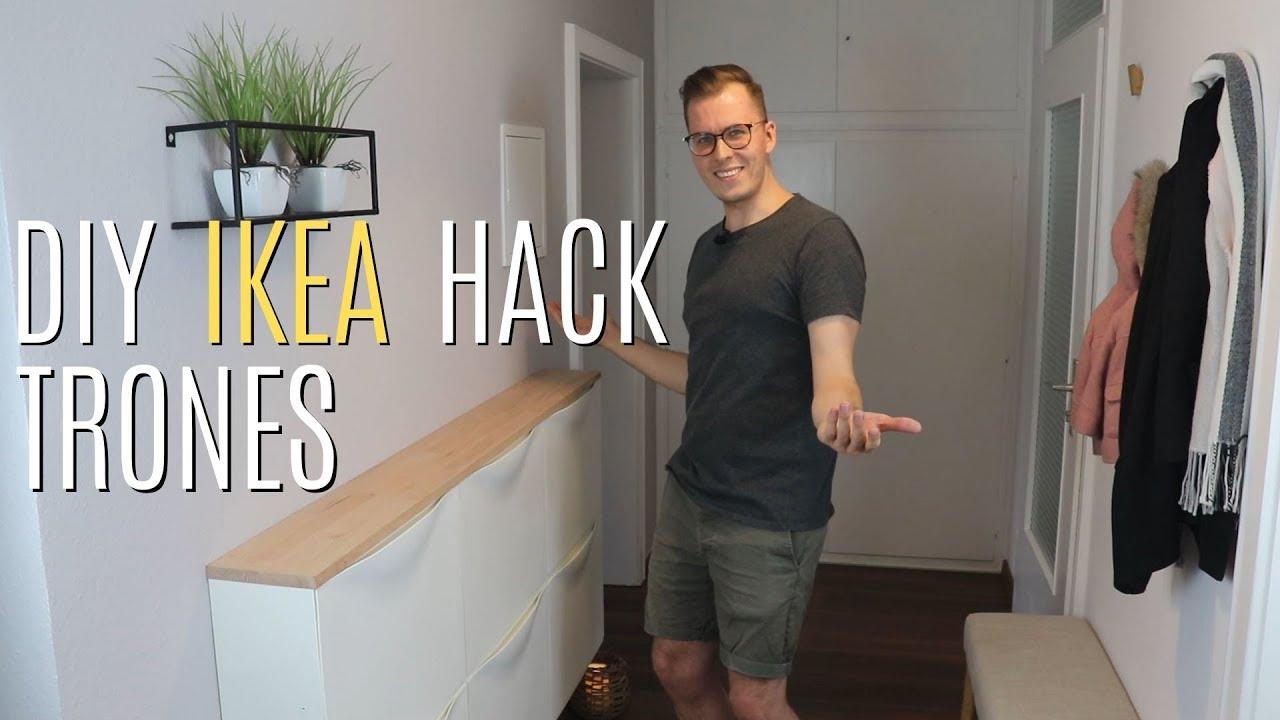 Diy Ikea Trones Hack Trones Schuhschrank Aufhubschen
