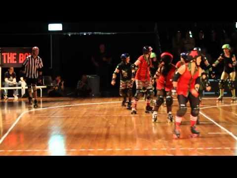 SRDL Roller Derby - From Dusk Till Derby - Draft (Slow Motion)
