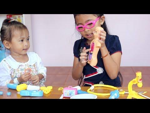 Unboxing Mainan Anak Balita Lucu Doctor Play Set For Kids - Main Dokter Dokteran