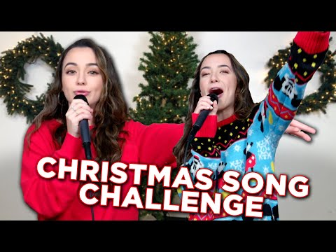 Christmas Song Challenge  Merrell Twins