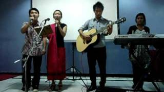 Group Song by North East Students.AVI