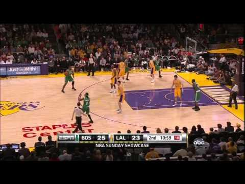 Boston Celtics @ Los Angeles Lakers - Kobe Is A One Man Show 1.30.11